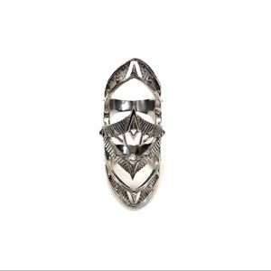 House of Harlow 1960 Jewelry - House of Harlow Armor Claw Ring in Silver